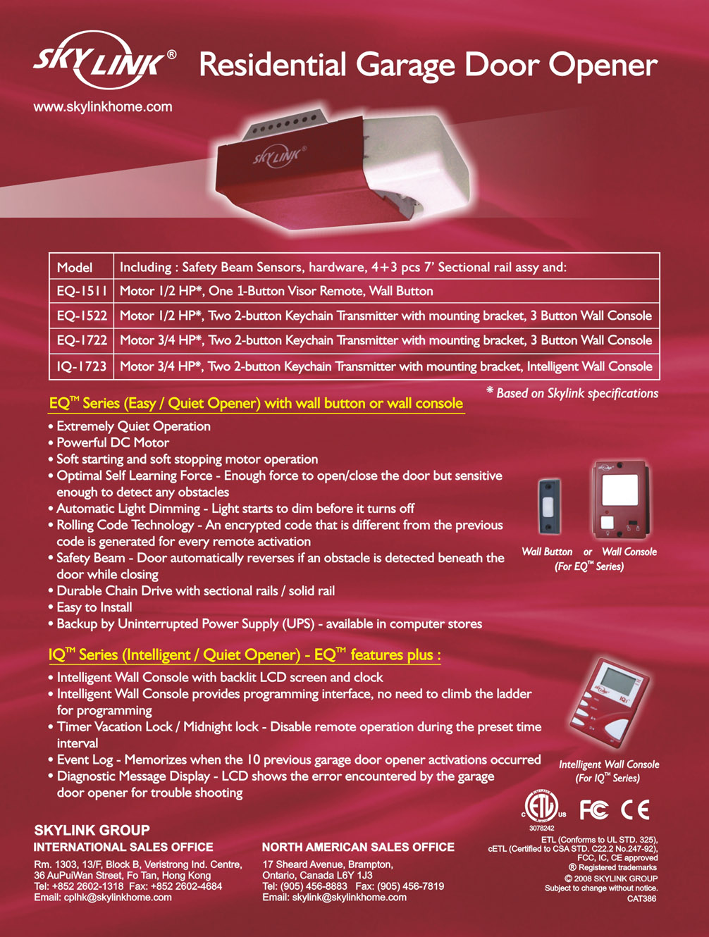 Promotional Materials Skylinkhome